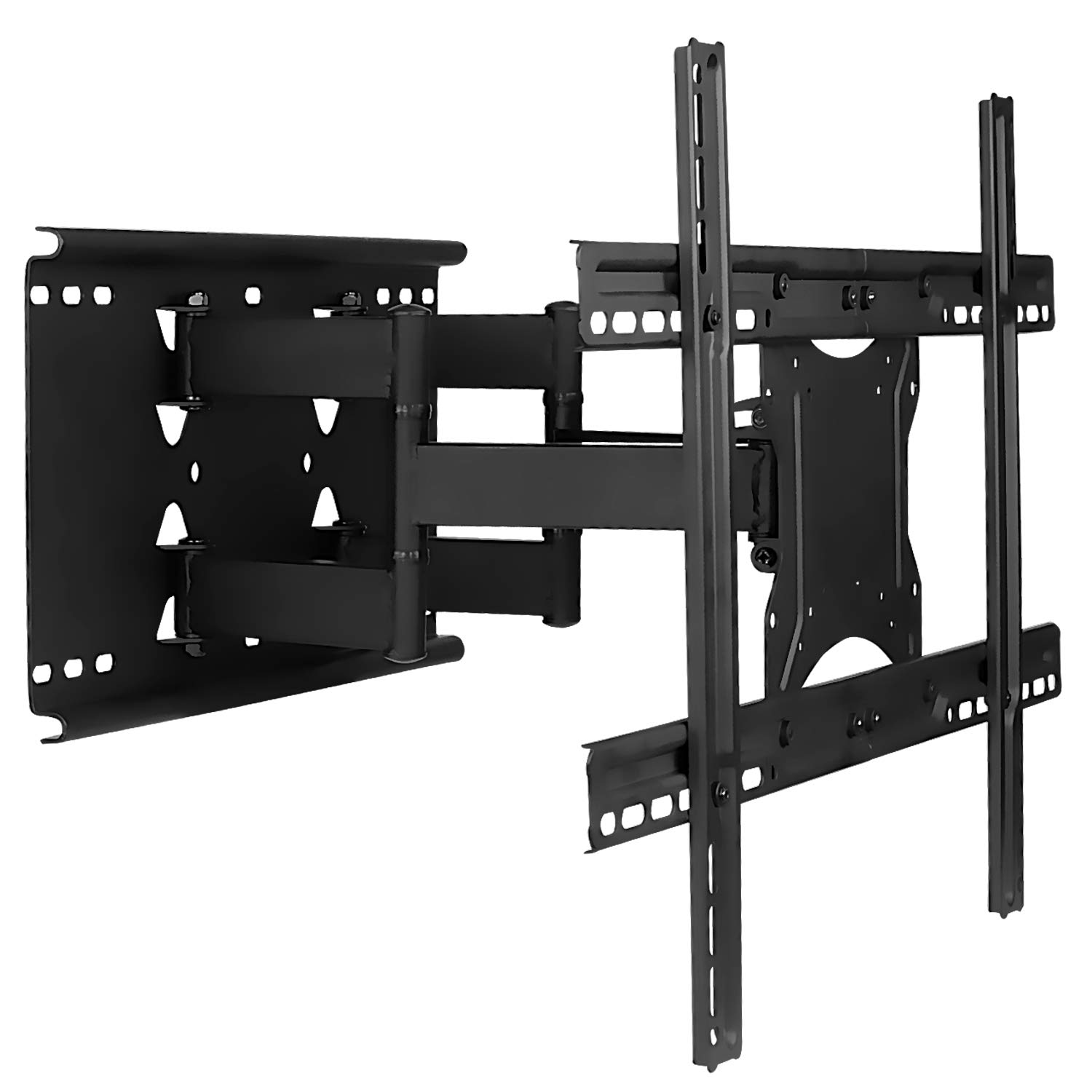 Mount It Full Motion Tv Wall Mount With Dual Articulating Arms Universal Tv Wall Mount Bracket Fits 32 42 50 55 60 70 82 Inch Tvs Up To 132lbs Heavy Duty Steel Vesa 100x100 To 600x400mm
