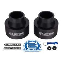 """Supreme Suspensions - 3"""" Front Lift Spring Spacers for 1999-2004 Jeep Grand Cherokee WJ Leveling Kit 2WD 4WD"""