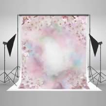 Kate 5x7ft Pink Flower Photography Backdrop Floral Bridal Shower Backdrops Wedding Portrait Background for Photo Studio