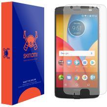 Skinomi Matte Screen Protector Compatible with Motorola Moto Z2 Force Anti-Glare Matte Skin TPU Anti-Bubble Film