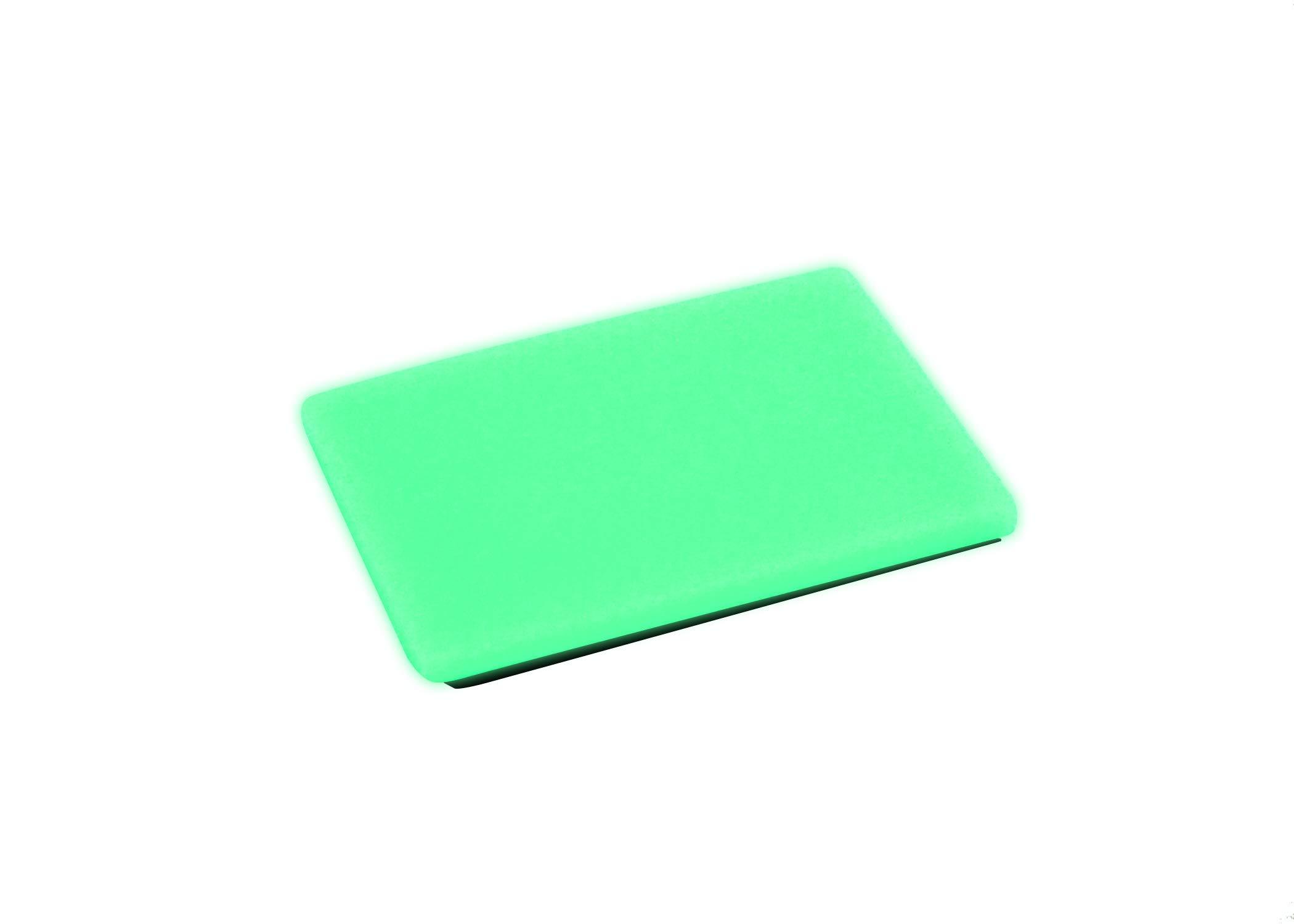 """Embrite BEACON Morale Patch - 2"""" x 3"""" glow in the dark Velcro attachment"""