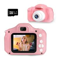Kids Digital Camera, SZREDU Toddler Video Camera for 3-8 Years Boys Girls,Children Toys Camera with 32GB SD for Birthday