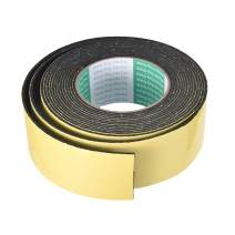 uxcell Foam Seal Tape, 50mm Wide 2mm Thick 16.4 Feet Long Adhesive Weather Strip