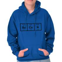Ba Co N Bacon Food Science Nerdy Geeky Hoodie