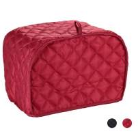 Toaster Cover 2 Slice,small Appliance Cover For Kitchen/Keep Toaster Free From Dust And Fingerprint (11.5w X 8d X 8h,Red)