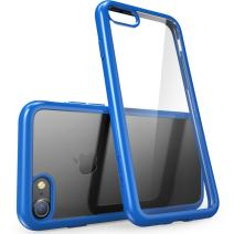 i-Blason iPhone7-Halo-Clear/Navy  Scratch Resistant  Halo Series Case Designed for iPhone 7 /iPhone 8- Clear/Navy
