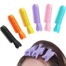Natural Fluffy Hair Clip Hair,Self Grip Root Volume Hair Curler Clip Volumizing Hair Root Clip DIY Curler Fluffy Clamps Rollers Fluffy Hair Roots Hair Styling Tool (8 PCS, Blue)