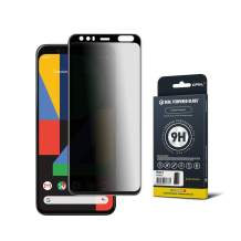 GPEL Privacy Screen Protector for Google Pixel 4 Premium Japanese Asahi Real Tempered Glass [Privacy Anti Spy] /Case-Friendly/Scratch Resistant/HD Clarity/9H Hardness/99% Touch Accurate