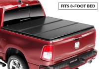 Rugged Liner E-Series Hard Folding Truck Bed Tonneau Cover | EH-C899 | fits 88-07  Chevy/GMC 8ft. Old Body Style, 8' bed