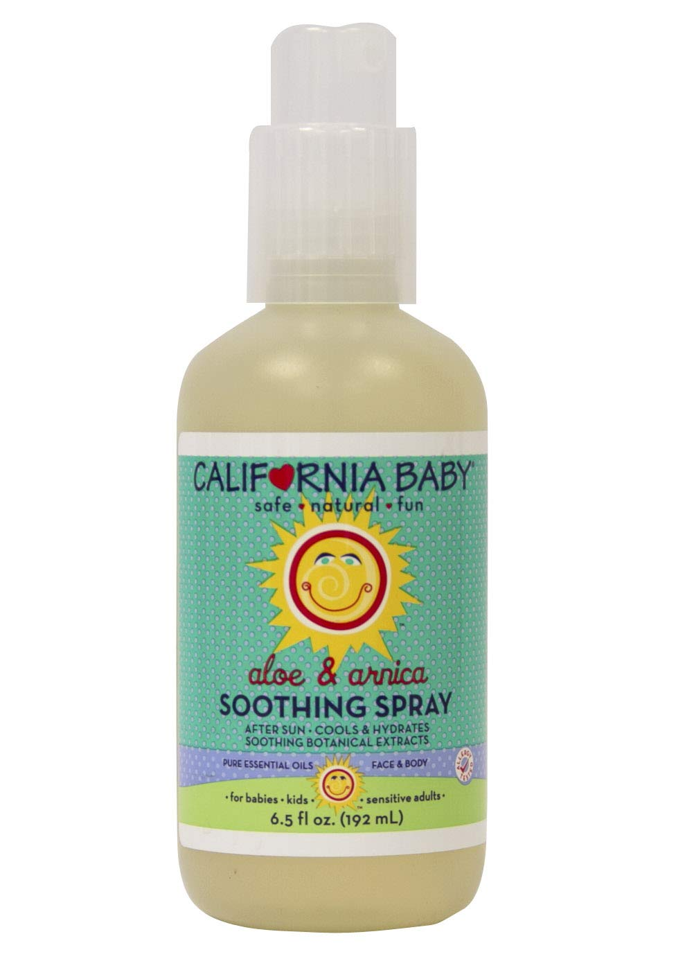 California Baby Aloe & Arnica Soothing Spray, 6.5 oz