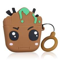 Coralogo for Airpods 3/for Airpods Pro Case,Cute Animal Cartoon Funny Design Character Protective Keychain Cover 3D Fashion Fun Cool Soft Silicone Skin Air pods Charging Cases for Airpod 3 (Tree Baby
