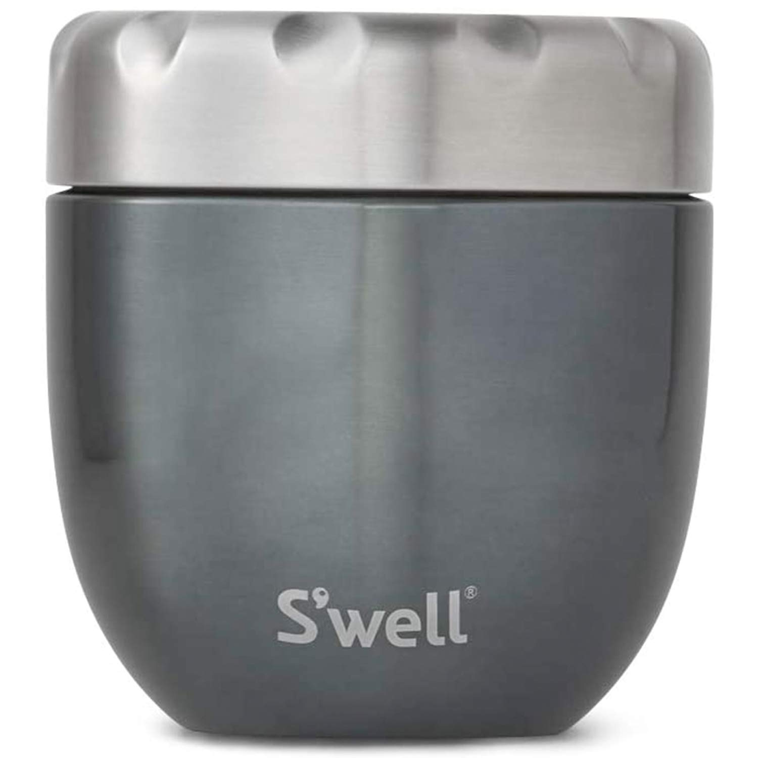 S'well Eats 16oz 2-IN-1 Nesting Food Bowl with 10oz Prep Bowl, Blue Suede (12814-B19-42540)