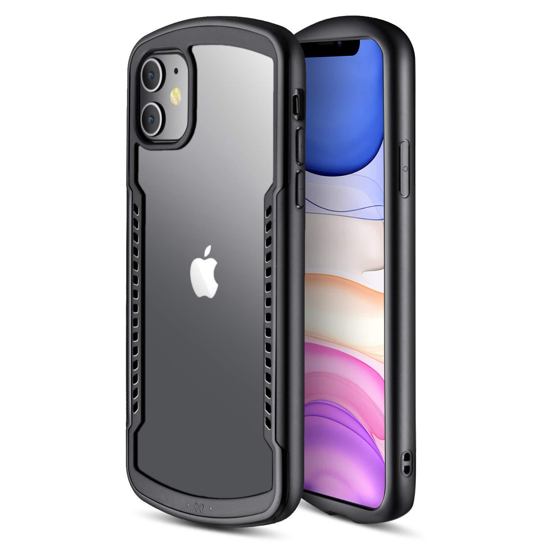 AECKS iPhone 11 Pro Case - Military Standard, Fade/Shock/Drop Proof, Light iPhone 11 Pro Protective Case 2020 (Black, iPhone 11 Pro)