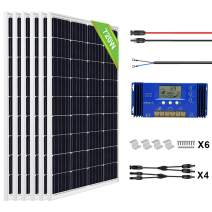ECO-WORTHY Complete Solar Power System 720W Off Grid House Solar Panels with 60A PWM Charge Controller for Homes, Cabins, Camping, Off Grid System