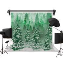 Kate 7x5ft/2.2m(W) x1.5m(H) Winter Backdrop Snow Tree Background White Snow Backdrops Snowflake Photography Photo Studio Props