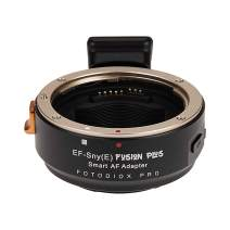 Fotodiox Pro Fusion Plus Adapter Compatible with Canon EOS Lenses to Select Sony E-Mount Cameras