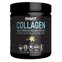Collagen Peptides - Hydrolyzed Powder with All Essential Amino Acids, Grass Fed, Pasture Raised, Type 1 and Type 3 – Vanilla