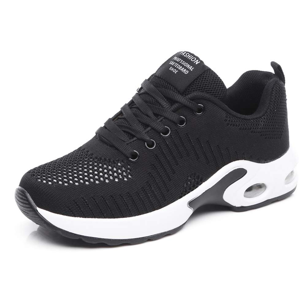 Ruiatoo Sneakers for Women Casual Lightweight Comfortable Air Cushion Non Slip Sport Running Shoes