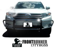 Black Horse Off Road 15TYHGSS Stainless 1 piece Bumper Guard Front Runner