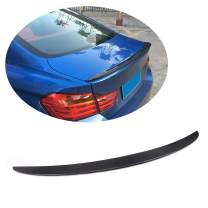 MCARCAR KIT Trunk Spoiler fits BMW 4 Series F32 Coupe 2014-2019 Factory Outlet Carbon Fiber CF 420i 428i 430i 435i 440i 2Door Rear Boot Lid Highkick Wing Lip