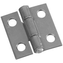 National Hardware N227-223 MPB518 Non-Removable Pin Hinges in Zinc Plated, 2 Pack