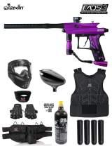Maddog Azodin KAOS 3 Protective CO2 Paintball Gun Marker Starter Package