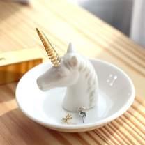 PUDDING CABIN Unicorn Gift for Women - Unicorn Ring Holder Dish for Rings Earrings Organizer - Unicorn Decor for Women Girls Her Friends Birthday Valentine's Day Xmas Gifts