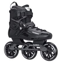 5th Element ST-110, 3-Wheel Mens Urban Inline Skates with Full Aluminum Frame, ABEC 7 Bearings and 110mm Wheels