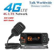 ANYSECU 4G-W2 Plus N60 3G/4G LTE FDD Mobile Radio IP Network PTT Radio Work with ZELLO/Real PTT
