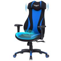Acethrone Gaming Chair Racing Office Computer Ergonomic Video Game Chair Backrest with Lumbar Pillow and Headrest, Mobility Height and Reclining Device High Back Chair for Adults
