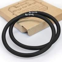 Roo Threads Premium Aluminum Rings for Baby Slings, Black
