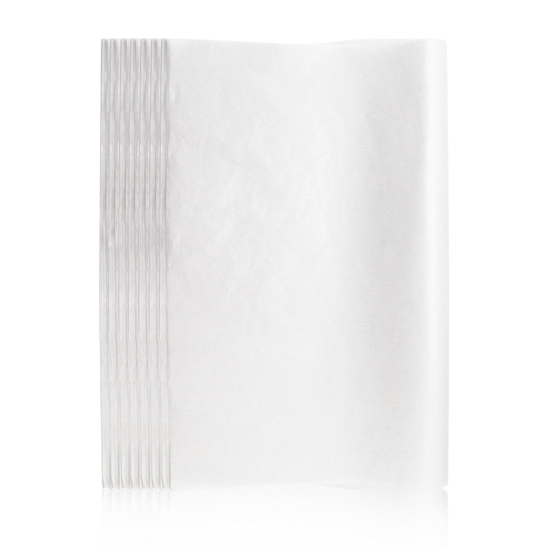 Tissue Paper, Segarty 500PCS 15x20 Inch White Bulk Gift Wrapping Tissue Paper, Wholesale Custom Packing Tissue Paper for Birthdays, Weddings, Christmas Holidays, Tassel, Garland, Gift Packaging