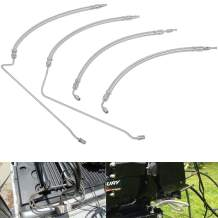 Trim Tilt hydraulic Ram Cylinder hose kit Fit for Mercruiser Alpha One Gen Two