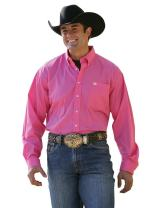 Cinch Men's Classic Fit Long Sleeve Button One Open Pocket Solid Basic