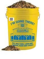 Backyard Seeds Classic Berry Blend Sunflower Bird Seed Mix in Bucket 15 Pounds