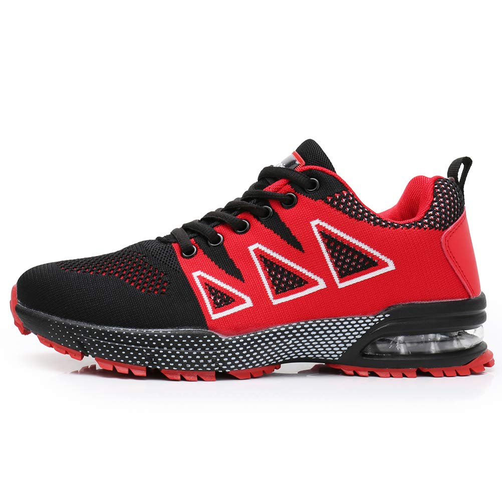JARLIF Men's Tennis Air Running Shoes Lightweight Gym Sport Workout Fitness Athletic Sneakers US6.5-12