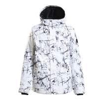 Men Ski Jacket Winter Coat Waterproof Pants High Windproof Snow Jacket