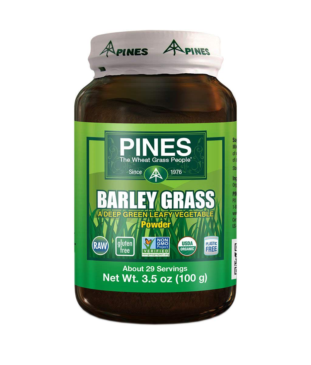 PINES Organic Barley Grass, 3.5 Ounce
