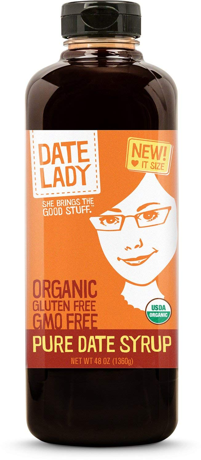 Award Winning Organic Date Syrup 3 lb Squeeze Bottle | 1 ingredient:100% Dates. Vegan, Paleo, Gluten-free & Kosher | Also Known As Silan, Date Honey and Date Nectar