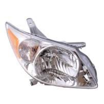 Aftermarket Replacement Passenger Halogen Headlight Compatible with 2005-2008 Vibe 88973539