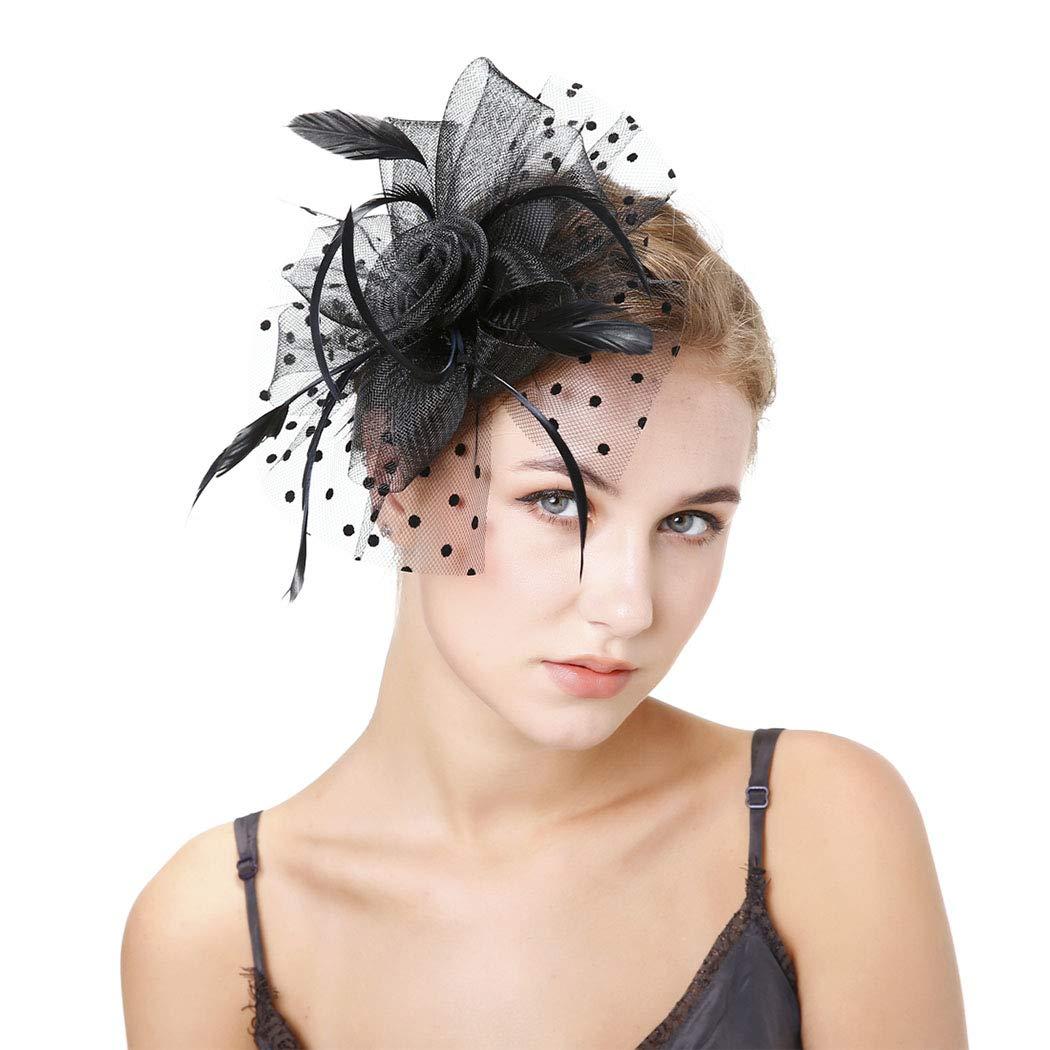 Feather Fascinate Bridal Hair Clip Bridal Head Piece Wedding Hair Accessory Wedding Hair Clip Bridal Hair Accessory Bridal Fascinate