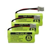 GEILIENERGY NiMH 2.4V 400mAh Battery Compatible with VTech BT-166342 BT-266342 BT-162342 BT-262342 BT183342 BT-183342 Sanik 2SN-AAA40H-S-X2 VTech CS6719-2 Cordless Phone (Pack of 3)
