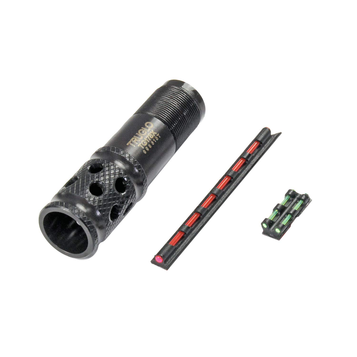 TRUGLO Gobble-Stopper Xtreme Shotgun Choke Tube Combo - Includes Universal-Fit Fiber Optic Sight, Mossberg 20 Gauge