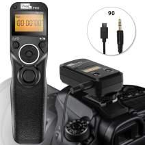Wireless Remoet Shutter for fujifilm, PIXEL TW-283 90 Remote Shutter Release 2.4G Wireless Timer Remote Control for Fuji Cameras