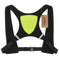 Lixada USB Rechargeable Reflective Vest Backpack with LED Turn Signal Light Remote Control Outdoor Sport Safety Bag Gear for Cycling Running Walking Jogging