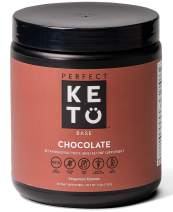 Exogenous Ketones Powder, BHB Beta-Hydroxybutyrate Salts Supplement, Best Fuel for Energy Boost, Mental Performance, Mix in Shakes, Milk, Smoothie Drinks for Ketosis – New Chocolate, 9.0 oz (255 grs)