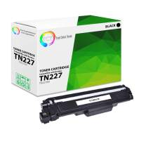 TCT Premium Compatible Toner Cartridge Replacement with Chip for Brother TN227 TN-227 TN227BK Black Works with Brother HL-L3210CW, MFC-L3710CW L3750CDW, DCP-L3510CDW Printers (3,000 Pages)
