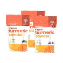 Ancestral Roots Organic Turmeric Powder - 4oz - 100% Pure, USDA Certified Organic Turmeric Powder (Pack of 3)