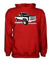 Square Body Chevy GMC 1973-1987 Hoodie Squarebody Sweatshirt