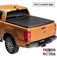 TruXedo TruXport Soft Roll Up Truck Bed Tonneau Cover | 256001 | fits 16-20 Toyota Tacoma 5' bed